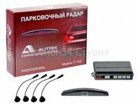 Парктроник  AUTRIX F-716 Black (4 sensor)