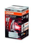 Лампа ксенон D1S OSRAM Night Breaker Unlimited +70% (66140XNB)