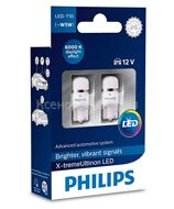 PHILIPS  W5W X-TREME VISION LED  6000K