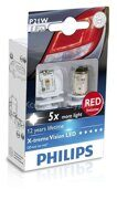 PHILIPS  P21W X-TREME VISION LED (RED)
