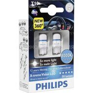 PHILIPS  W5W X-TREME VISION LED  8000K