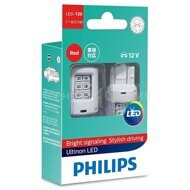 PHILIPS  W21/5W ULTINON LED RED