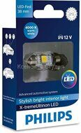 PHILIPS  X-TREME ULTINON LED Festoon  4000K 38mm